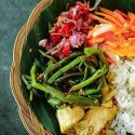 1. Bali vegan dinner bowl