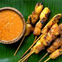 3. Indonesian chicken satay