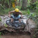 7. driving atv/quad in Ubud