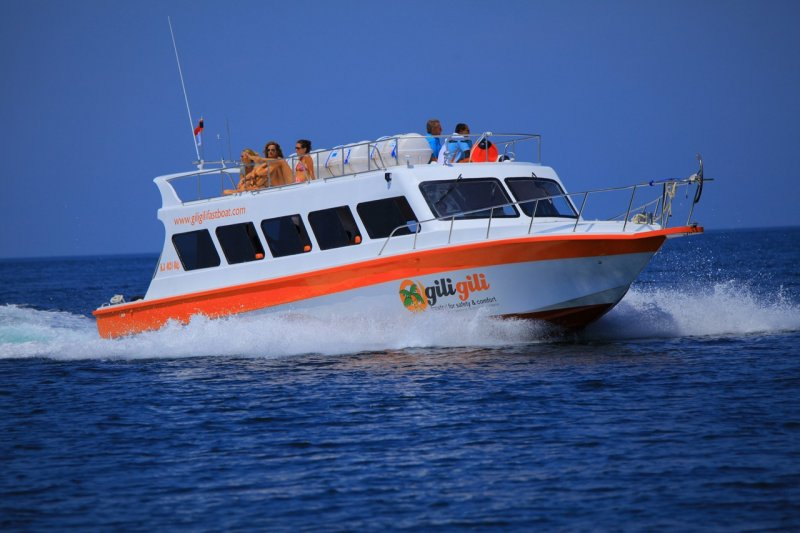 1. Boat to the Gili Islands
