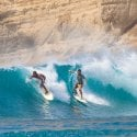 1. a surf in Selong Belanak