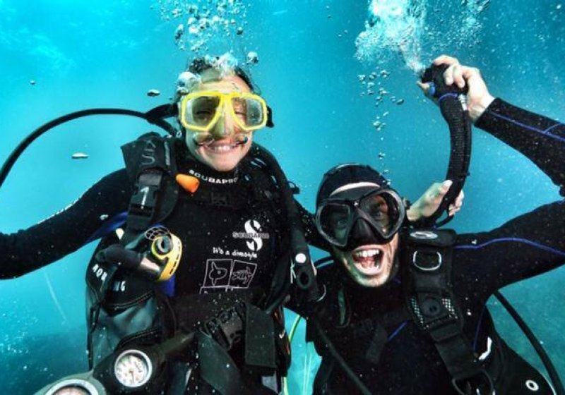 1. book scuba diving course now