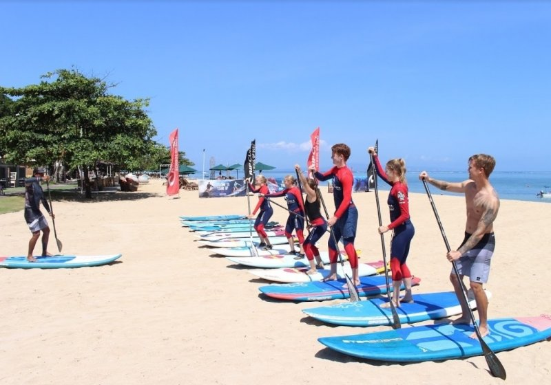 Stand Up Paddle in Sanur - Gilibookings com