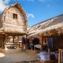 2.A traditional village in Lombok