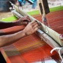 3.weaving tour in Lombok