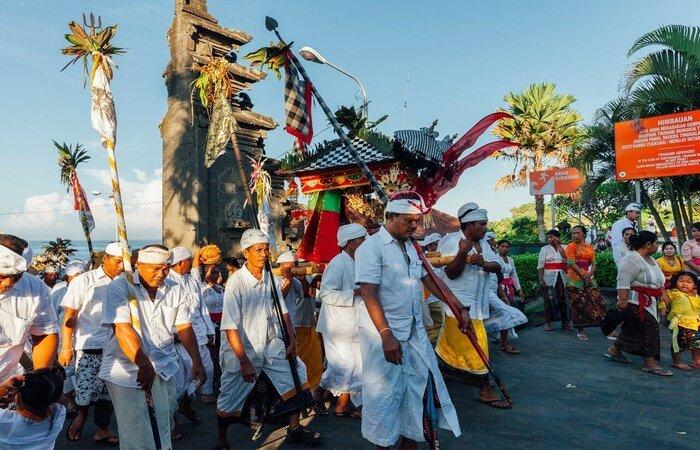 Nyepi day celebration bali