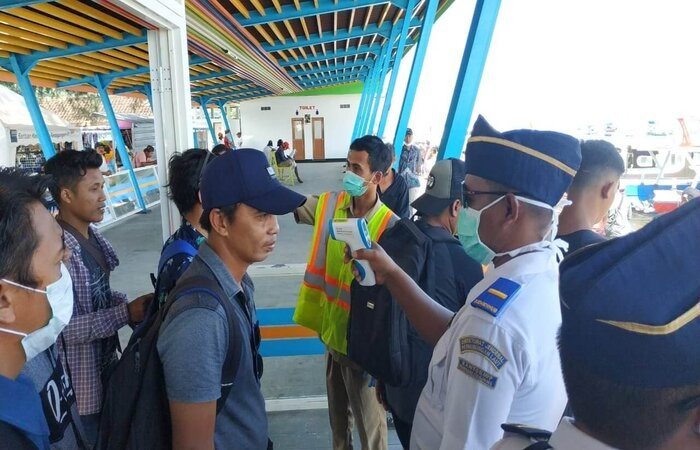 Lombok testing fast boat arrivals for Coronavirus in early March 2020