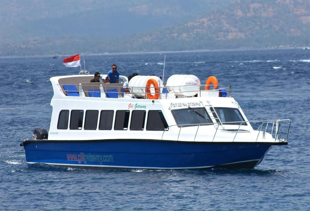 Gili to Bali by fast boat