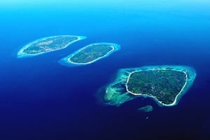 Gili Islands from above