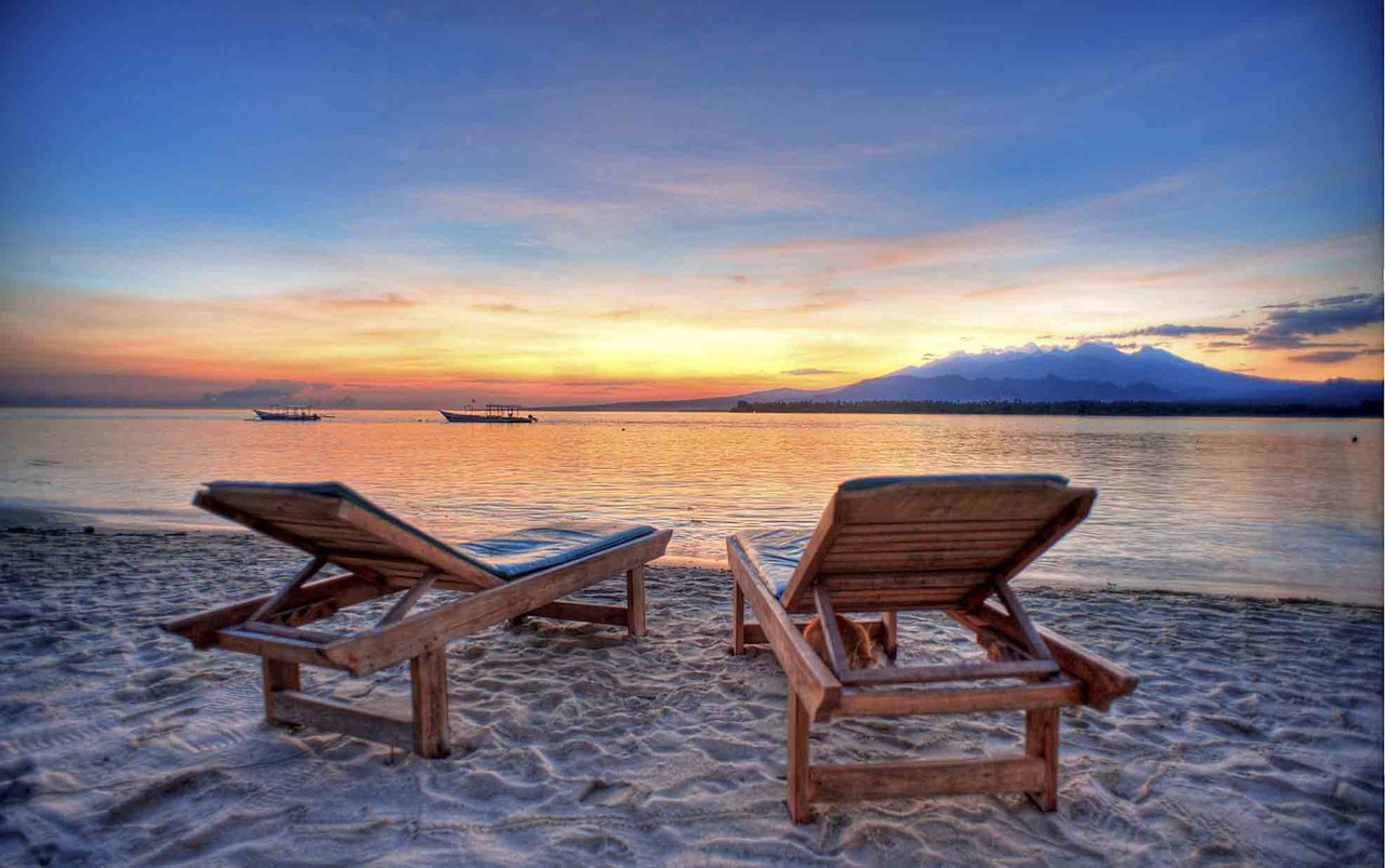 Sunrise on gili air lombok