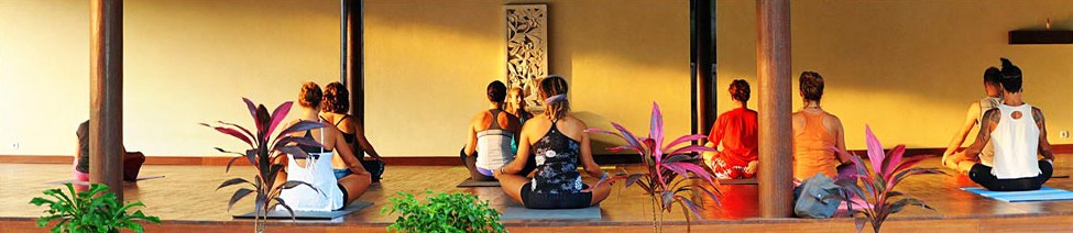Gili islands yoga lessons